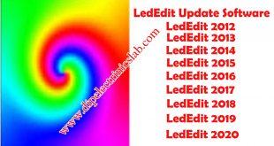 latest version LedEdit software