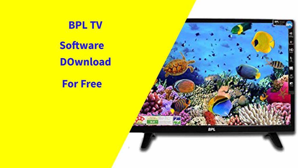 BPL TV Software