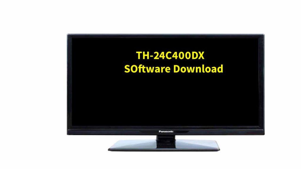 Panasonic TH-24C400DX Software