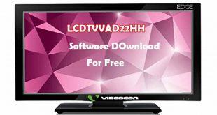 videocon led tv software