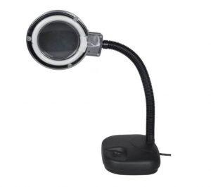 magnifying lamp for repairing work