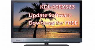 Sony KDL-40EX523 Update Software