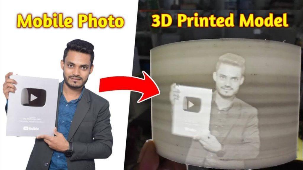 print mobile photo using 3D Printer