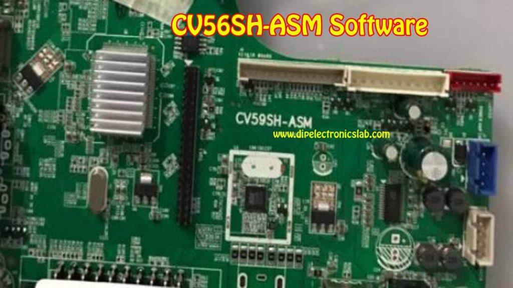 CV59SH-ASM Software