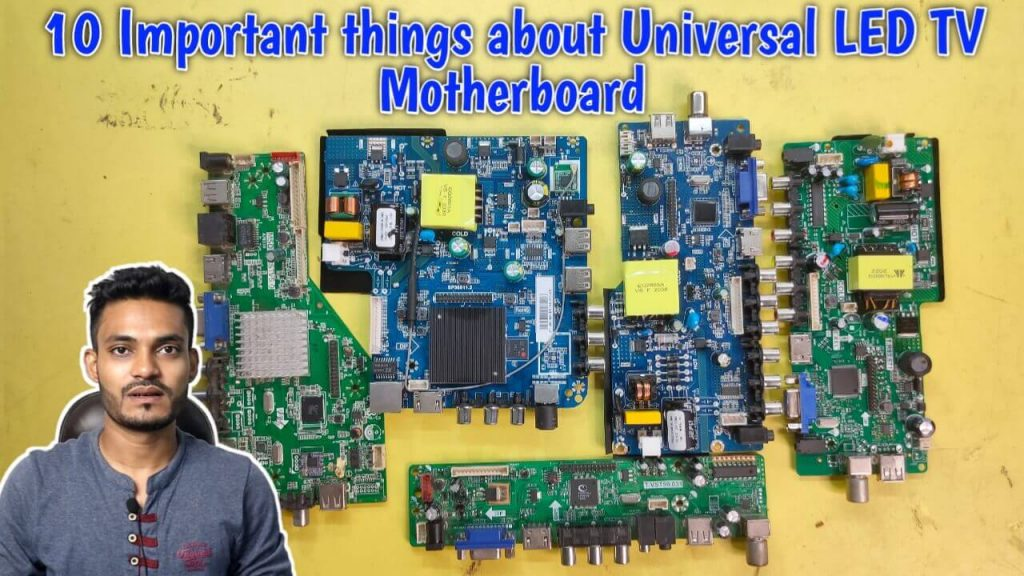 Important Things about Universal LED TV Motherboard