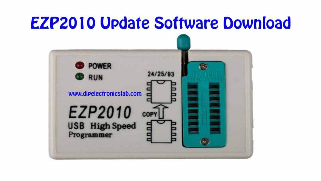 EZP2010 Programmer Update Software