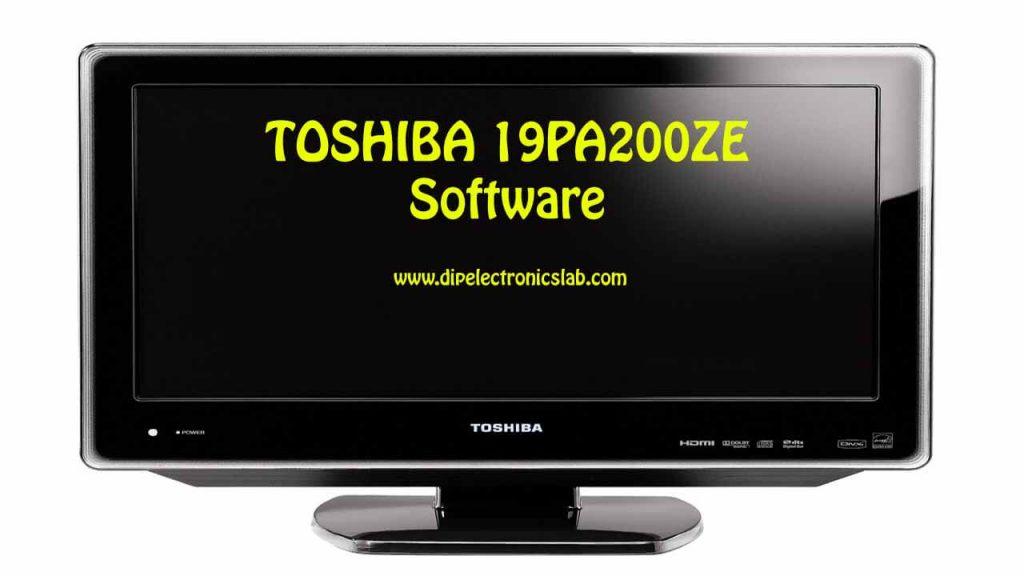 TOSHIBA 19PA200ZE Software