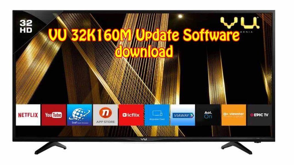 VU 32K160M Update Software download