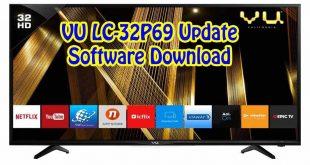 VU LC-32P69 Update Software