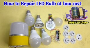 led bulb repairing technique with low cost
