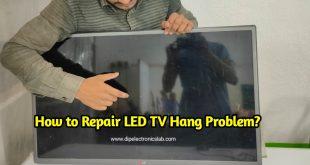 repair tv hang problem at home