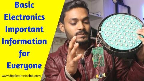 Basic Electronics Important Information