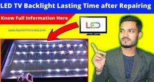 led tv backlight repairing technique