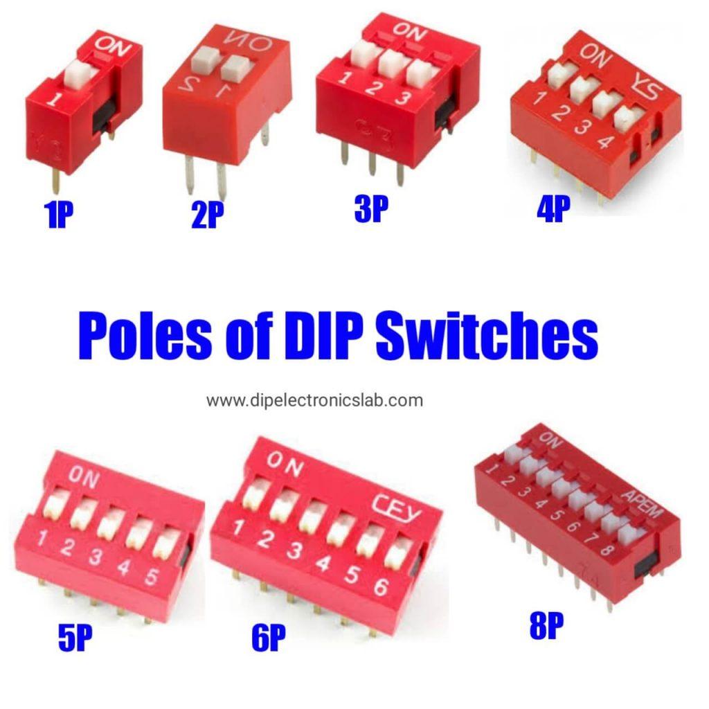 dip switch poles