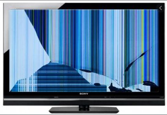 LED TV BROKEN PANEL PROBLEM