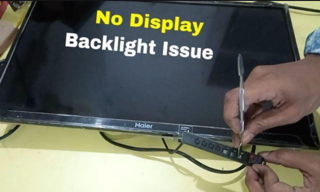 NO Display Sound OK Problem in LED TV