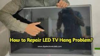 lcd led tv hang problem repairing