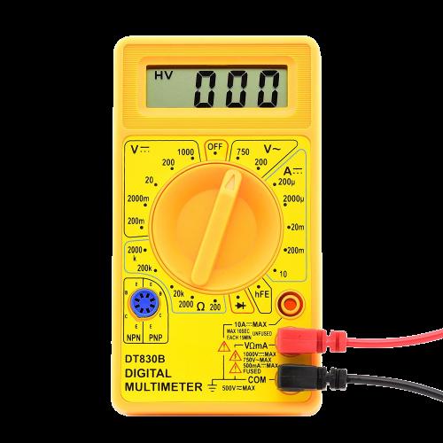 Manual Digital Multimeter